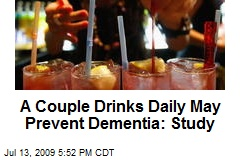 A Couple Drinks Daily May Prevent Dementia: Study