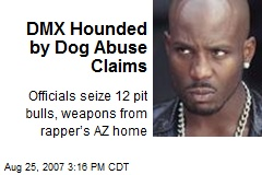 DMX Hounded by Dog Abuse Claims