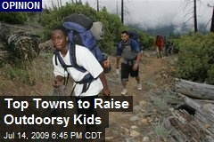 Top Towns to Raise Outdoorsy Kids