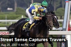 Street Sense Captures Travers