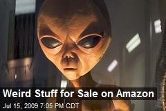 Weird Stuff for Sale on Amazon