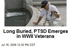 Long Buried, PTSD Emerges in WWII Veterans