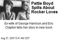Pattie Boyd Spills About Rocker Loves