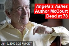 Angela's Ashes Author McCourt Dead at 78