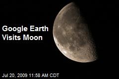 Google Earth Visits Moon