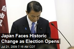 Japan Faces Historic Change as Election Opens