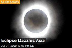 Eclipse Dazzles Asia