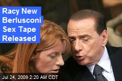 Racy New Berlusconi Sex Tape Released