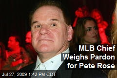 MLB Chief Weighs Pardon for Pete Rose