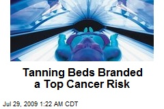 Tanning Beds Branded a Top Cancer Risk