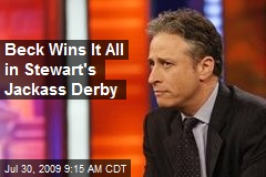 Beck Wins It All in Stewart's Jackass Derby