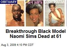 Breakthrough Black Model Naomi Sims Dead at 61
