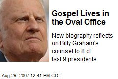 Gospel Lives in the Oval Office