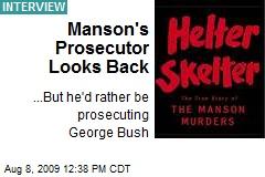 Manson's Prosecutor Looks Back