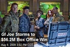 GI Joe Storms to $56.2M Box Office Win