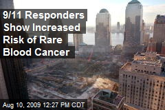 9/11 Responders Show Increased Risk of Rare Blood Cancer