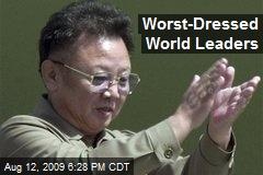 Worst-Dressed World Leaders