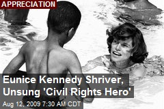 Eunice Kennedy Shriver, Unsung 'Civil Rights Hero'