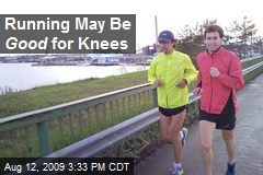 Running May Be Good for Knees