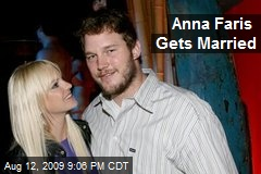 Anna Faris Gets Married