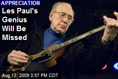 Les Paul's Genius Will Be Missed
