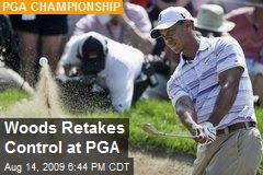 Woods Retakes Control at PGA