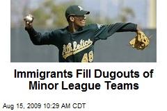 Immigrants Fill Dugouts of Minor League Teams