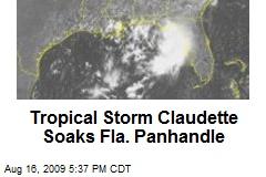 Tropical Storm Claudette Soaks Fla. Panhandle