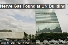 Nerve Gas Found at UN Building