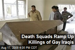 Death Squads Ramp Up Killings of Gay Iraqis