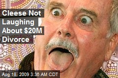 Cleese Not Laughing About $20M Divorce