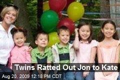 Twins Ratted Out Jon to Kate