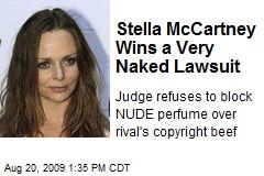 Stella McCartney Wins a Very Naked Lawsuit