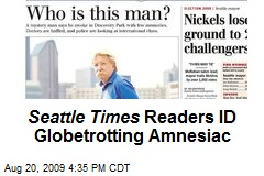 Seattle Times Readers ID Globetrotting Amnesiac