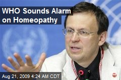 WHO Sounds Alarm on Homeopathy
