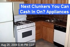 Next Clunkers You Can Cash In On? Appliances