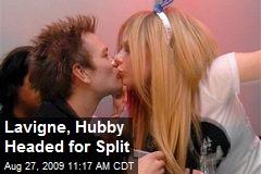 Lavigne, Hubby Headed for Split