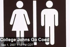 College Johns Go Coed