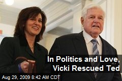 In Politics and Love, Vicki Rescued Ted