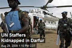 UN Staffers Kidnapped in Darfur