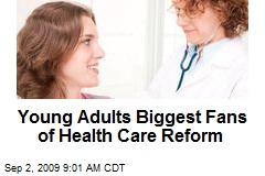 Young Adults Biggest Fans of Health Care Reform