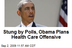 Stung by Polls, Obama Plans Health Care Offensive