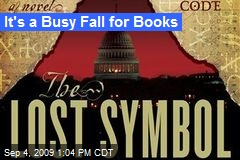 It's a Busy Fall for Books