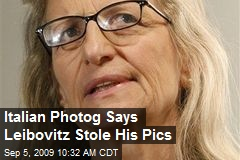 Italian Photog Says Leibovitz Stole His Pics