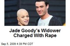 Jade Goody's Widower Charged With Rape
