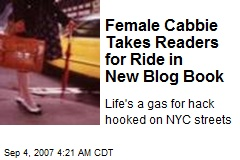 Female Cabbie Takes Readers for Ride in New Blog Book