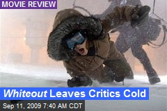 Whiteout Leaves Critics Cold