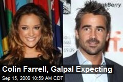 Colin Farrell, Galpal Expecting