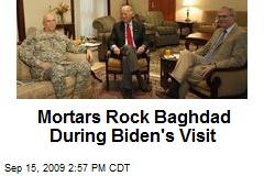 Mortars Rock Baghdad During Biden's Visit
