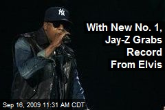 With New No. 1, Jay-Z Grabs Record From Elvis